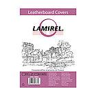 Обложки картонные с тиснением под кожу Lamirel LA-78685 Delta (A4, Белый, 100шт)