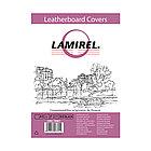 Обложки картонные с тиснением под кожу Lamirel LA-78687 Delta A4  (Черный, 230г/м)