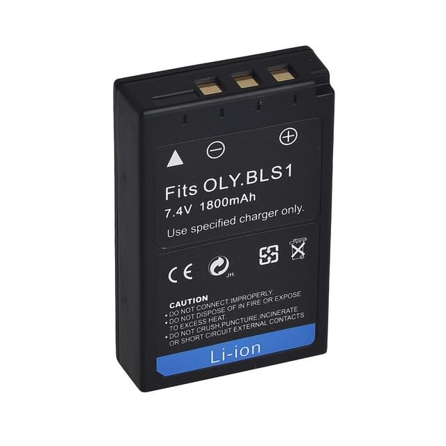 Батарейка (аккумулятор) OLYMPUS BLS-1 (1150 mAh)