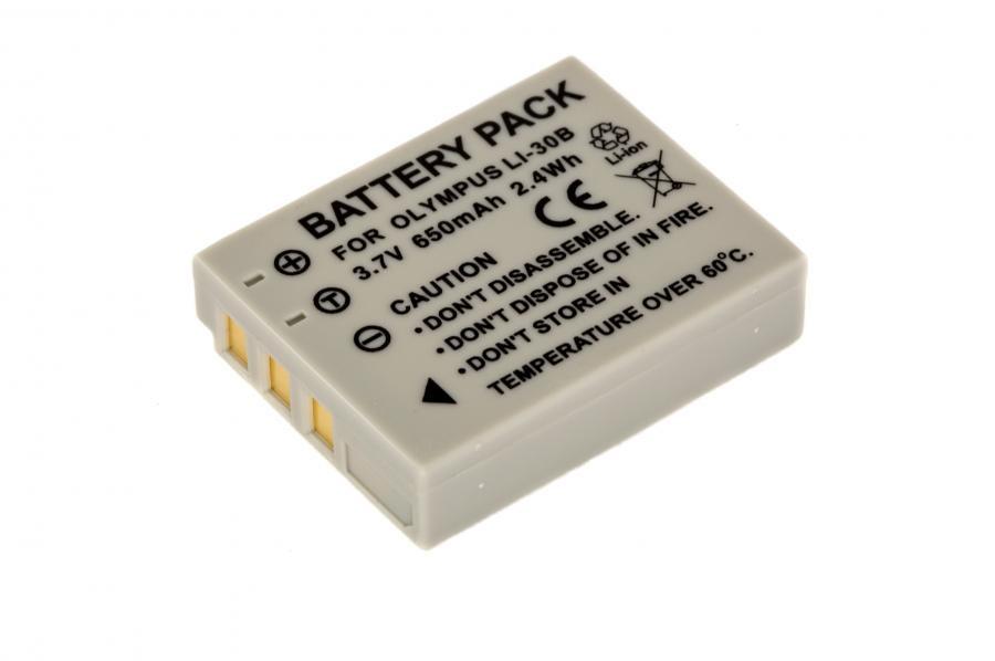Батарейка (аккумулятор) OLYMPUS LI-30B (645 mAh)
