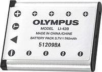 Батарейка (аккумулятор) OLYMPUS LI-42B (740 mAh)