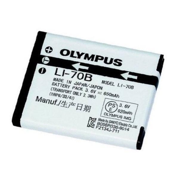 Батарейка (аккумулятор) OLYMPUS LI-70 B (650 mAh)