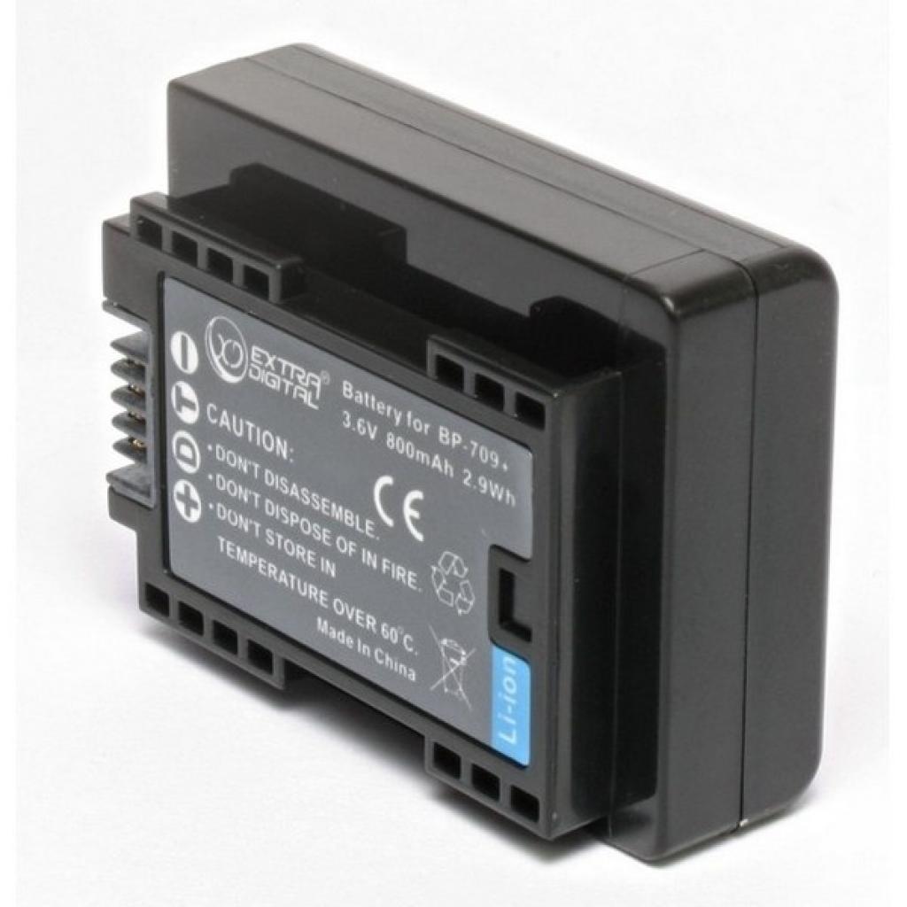 Батарейка (аккумулятор) Canon BP-709 (800 mAh)