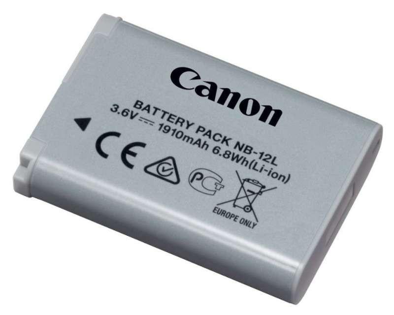 Батарейка (аккумулятор) Canon NB-12L (1910 mAh)