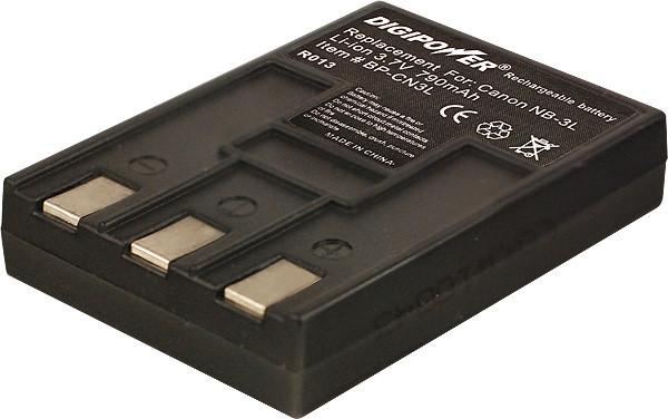Батарейка (аккумулятор) Canon NB-3L (1000 mAh)