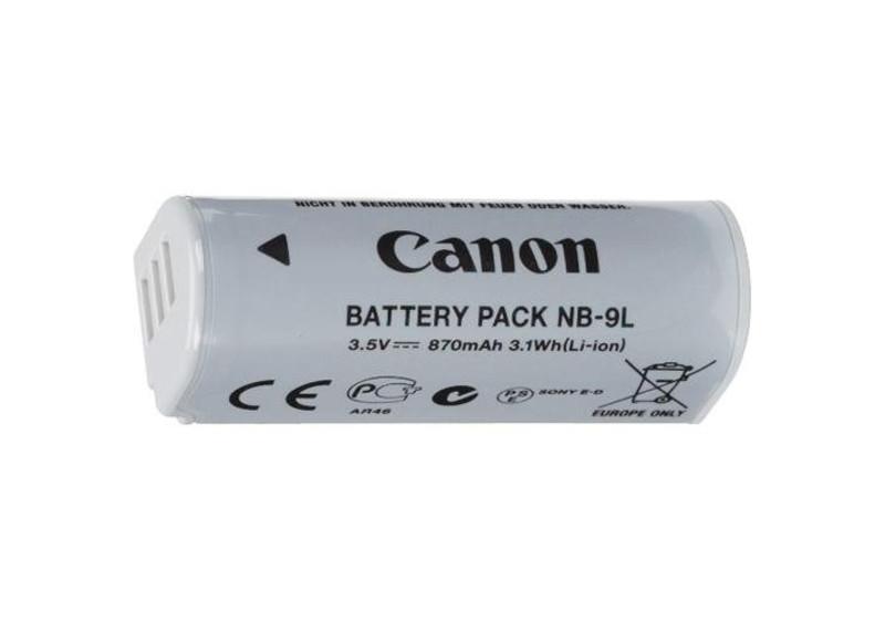 Батарейка (аккумулятор) Canon NB-9L (870 mAh)