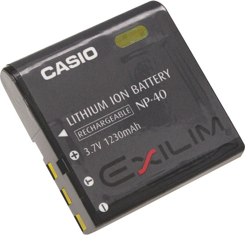 Батарейка (аккумулятор) Casio NP-40 (1300 mAh)