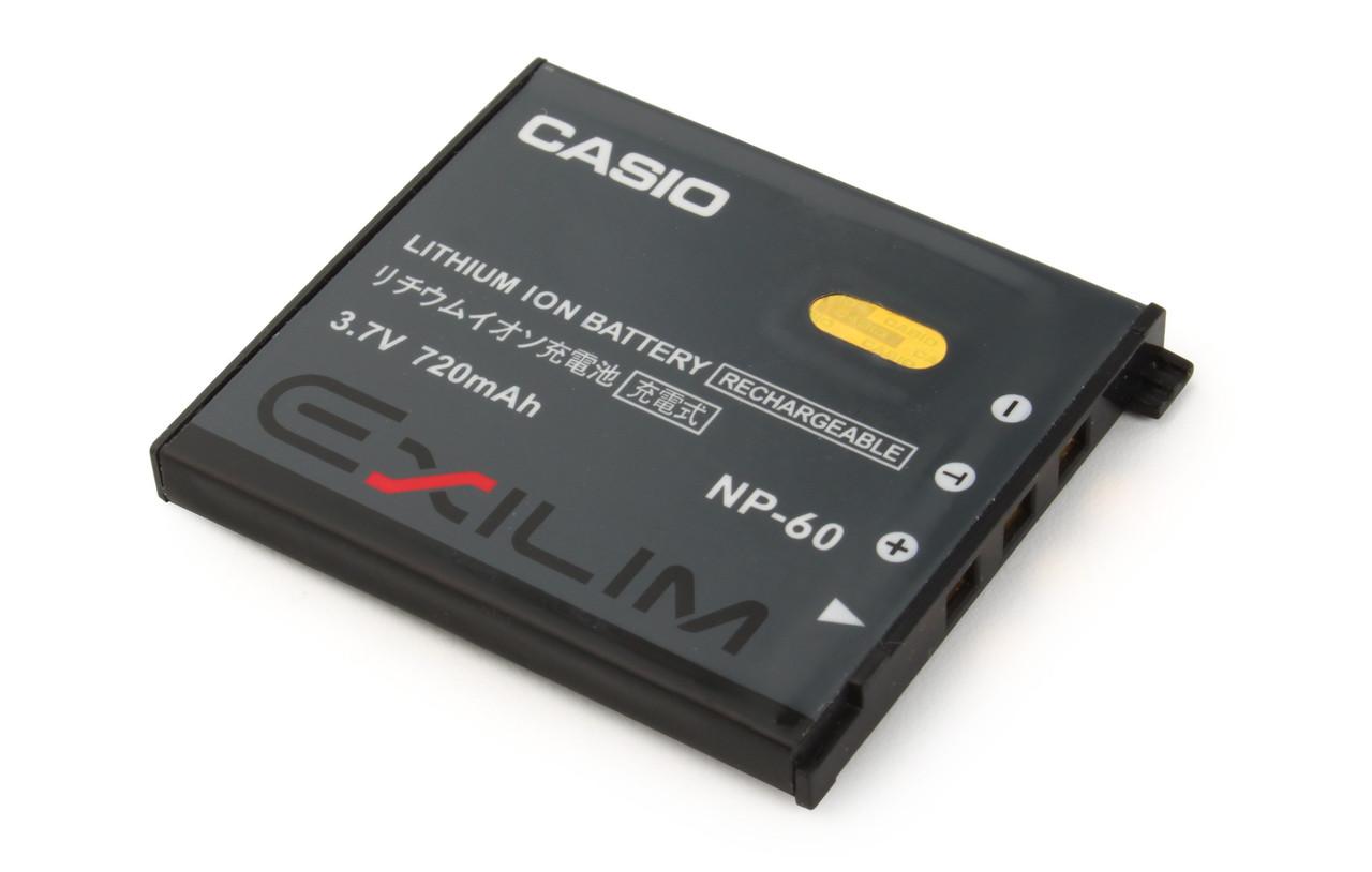 Батарейка (аккумулятор) Casio NP-60 (720 mAh)