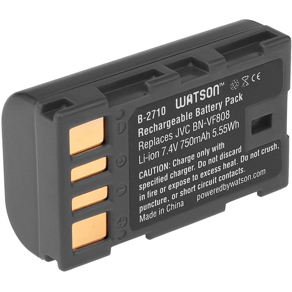 Батарейка (аккумулятор) JVC BN-v f808 (730 mAh)