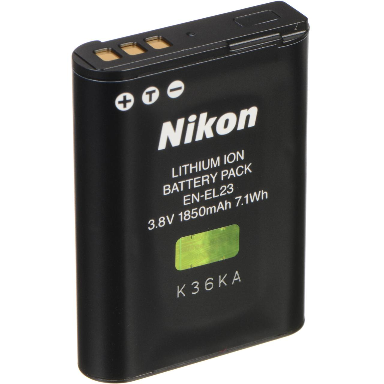 Батарейка (аккумулятор) Nikon en-el23 (1850 mAh)