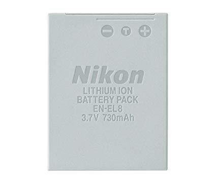 Батарейка (аккумулятор) Nikon en-el8 (950 mAh)