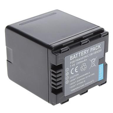 Батарейка (аккумулятор) Panasonic VBN260 (2500 mAh)