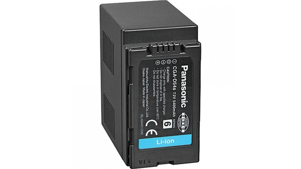 Батарейка (аккумулятор) Panasonic CGA-D54 S (5400 mAh)