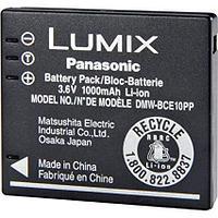 Батарейка (аккумулятор) Panasonic DMW-BCE 10 для Lumix (1000 mAh)