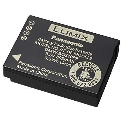 Батарейка (аккумулятор) Panasonic DMW-BCG10 для Lumix (895 mAh)