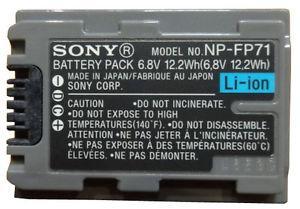 Батарейка (аккумулятор) Sony NP-FP71 (1800 mAh)