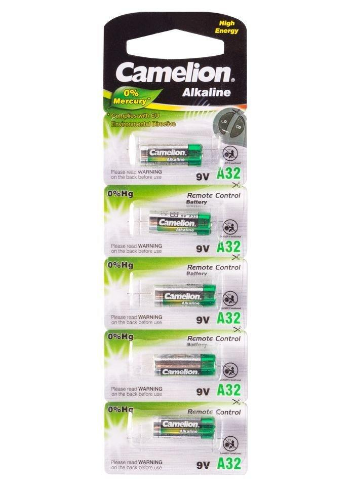 Батарейка Camelion A32-BP5, 9V (5 шт.)