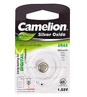 Батарейка Camelion SR44-BP1, Silver Oxide, 1.55V (1 шт.)