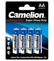 Батарейка Camelion AA R6P-BP4B, Super Heavy Duty, 1.5V, 1050mAh (4 шт.)
