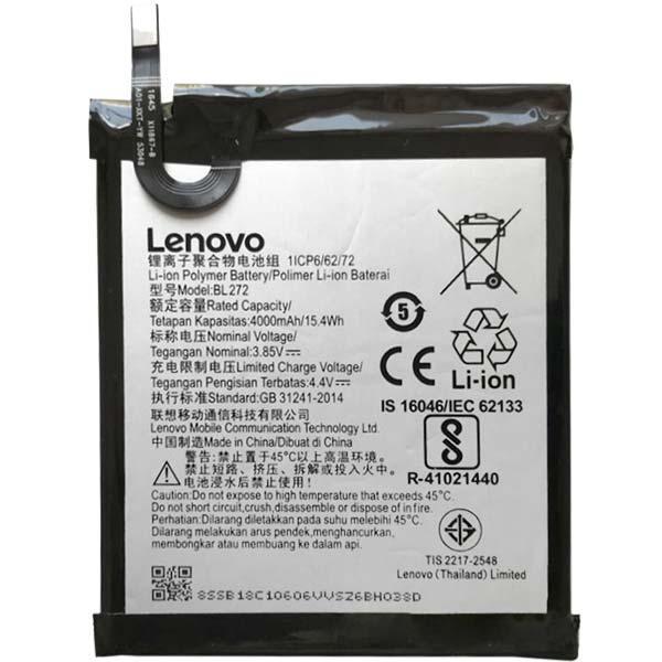 Батарея для Lenovo K6 Power (BL-272, 4000 mAh)