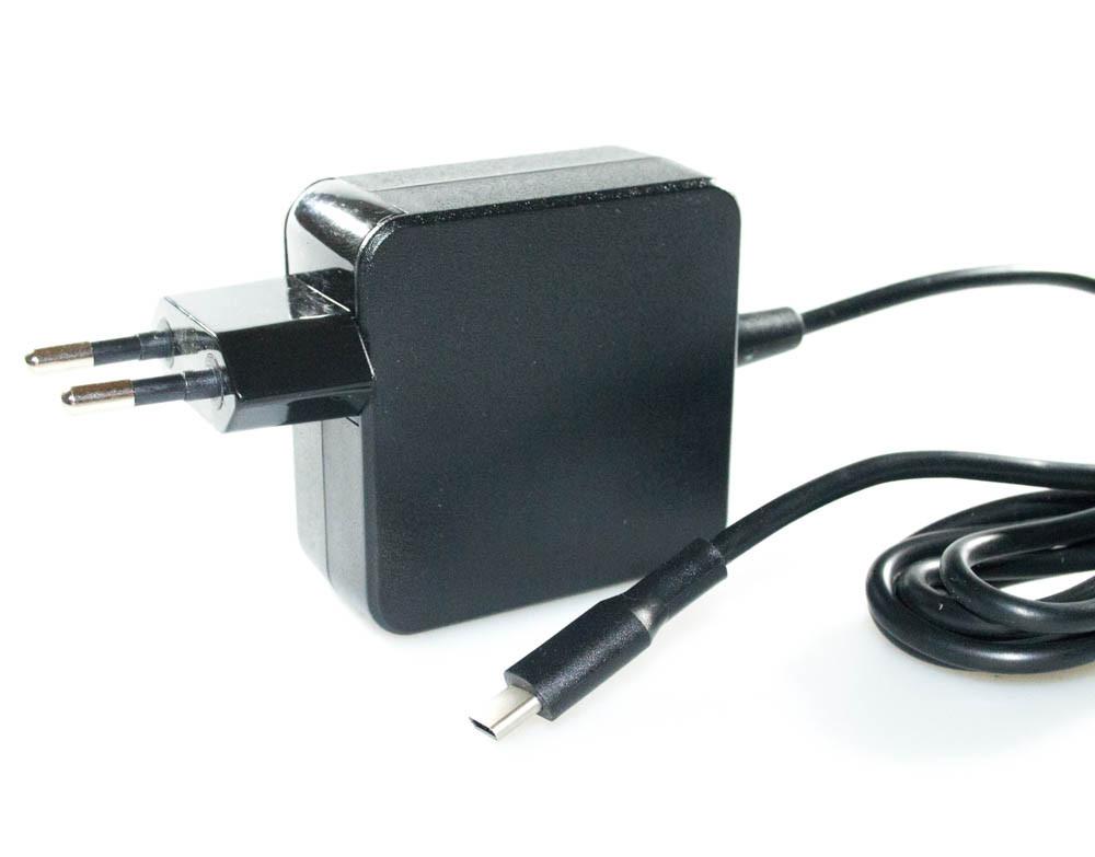 Зарядка (сетевой адаптер) для ноутбука Lenovo 5V-2A 9V-2A 15V-3A 20V-3.25A 65W USB TYPE-C