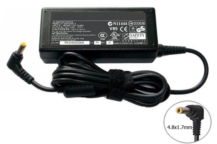 Оригинальная зарядка (сетевой адаптер) для ноутбука Sony Vaio 10.5V 4.3A 45W 4.8x1.7mm