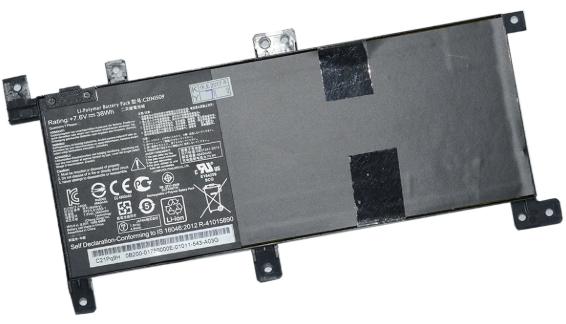 Батарея для ноутбука Asus X556, C21N1509 (7.6V, 4900 mAh) Original