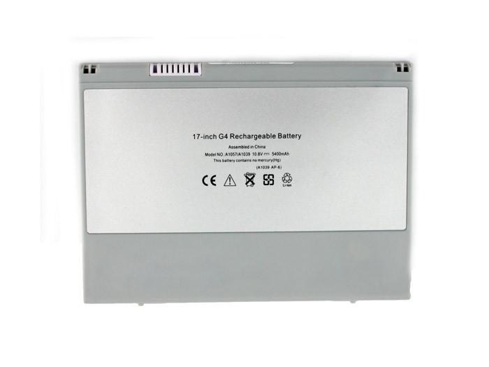 Батарея для ноутбука Apple A1039 (10.8V 5400 mAh)
