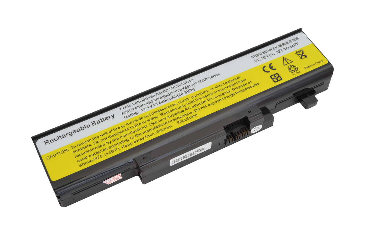 Батарея для ноутбука Lenovo Y450 (11.1V 4400 mAh)