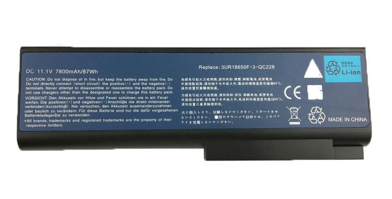 Батарея для ноутбука Acer F5000 (11.1V 7800 mAh)
