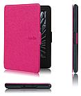 Кожаный чехол для Amazon Kindle 8 (розовый)