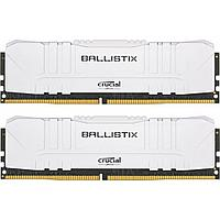 Оперативная память 16GB KIT (2x8Gb) DDR4 3200MHz Crucial Ballistix Gaming White BL2K8G32C16U4W