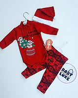 Новогодний комплект для новорожденных Merry Christmas