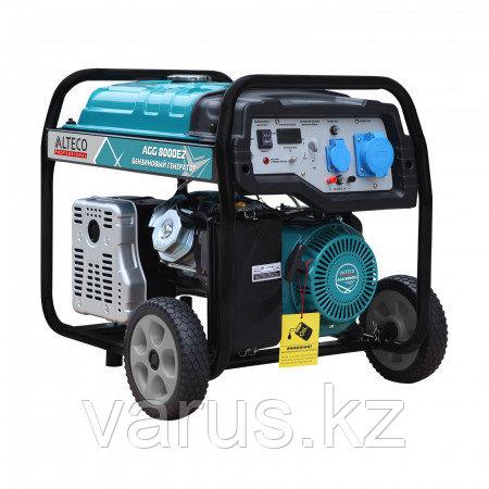 Бензиновый генератор Alteco Professional AGG 8000Е2 (6.5/7кВт)