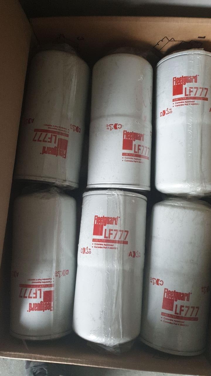 """D116/H249(1.3/8""""-16 UNS-2B) Fleetguard LF777 - масляный фильтр"""