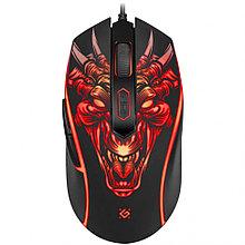 Мышь игровая Defender Monstro GM-510L оптика,6кнопок,3200dpi