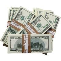 Деньги сувенирные бутафорские «Котлета бабла» (Доллары)