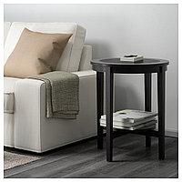 МАЛМСТА Придиванный столик, черно-коричневый, 54 см, фото 1