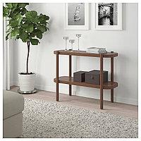 ЛИСТЕРБИ Консольный стол, коричневый, 92x38x71 см, фото 1