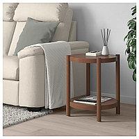 ЛИСТЕРБИ Придиванный столик, коричневый, 50 см, фото 1