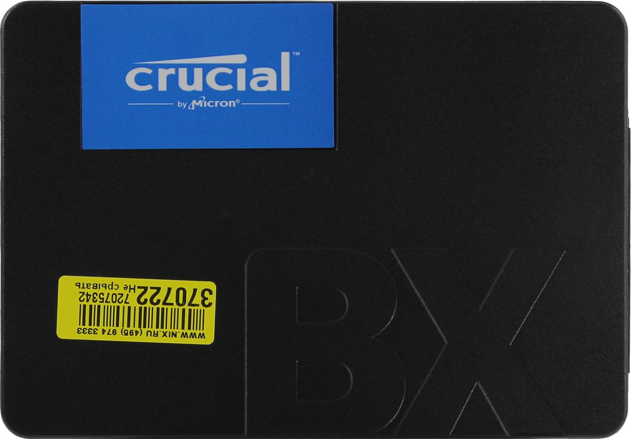 """Твердотельный накопитель 120GB SSD CRUCIAL BX500 2.5"""""""