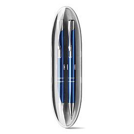 Набор из ручки и механического карандаша, BETA SET Синий