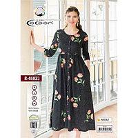 Платье-халат женское