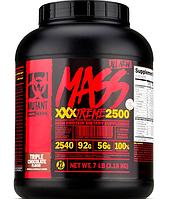 Гейнер Mutant Mass XXXTREME 2500, 7 lbs.