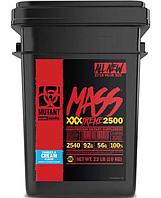 Гейнер Mutant Mass XXXTREME 2500, 22 lbs.