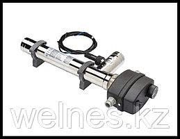 Электронагреватель для бассейна Max Dapra ЭВО D-EWT-EV с переключателем потока, нержавеющая сталь (9,0 кВт)