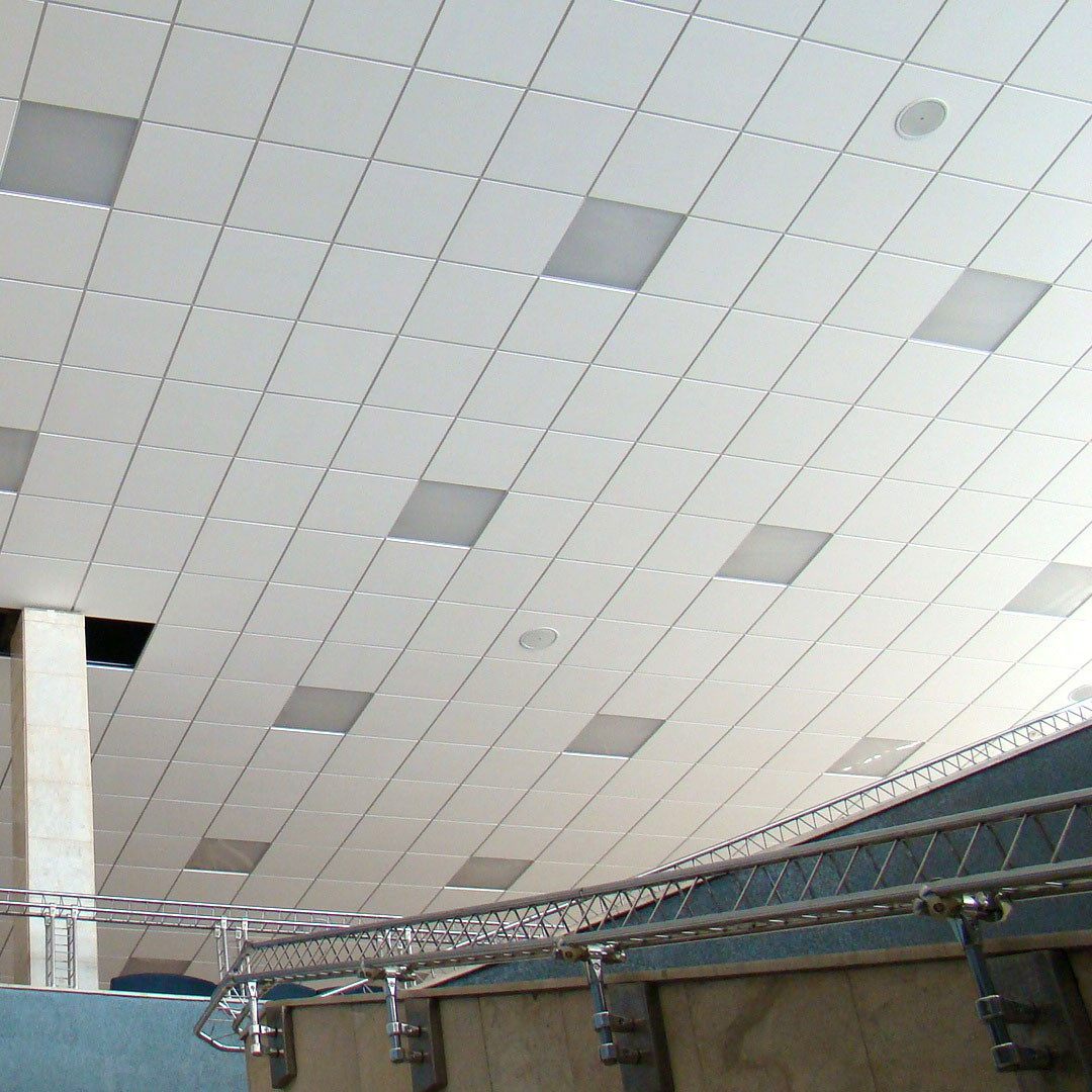 Потолочные акустические панели 600х600х25 [Square Edge]