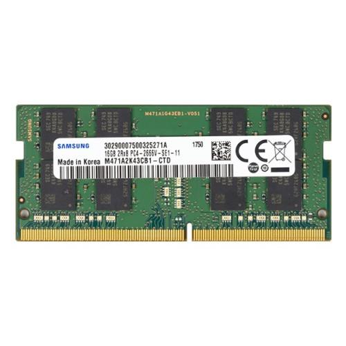 Оперативная память для ноутбука Samsung 16GB DDR4 2666 SO DIMM Non-ECC, CL19, 1.2V, M471A2K43CB1-CTD