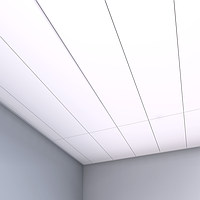 Потолочные акустические панели 1200х600х20 [Concealed Edge], фото 1