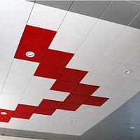 Потолочные акустические панели 600х600х25 [Concealed Edge], фото 1